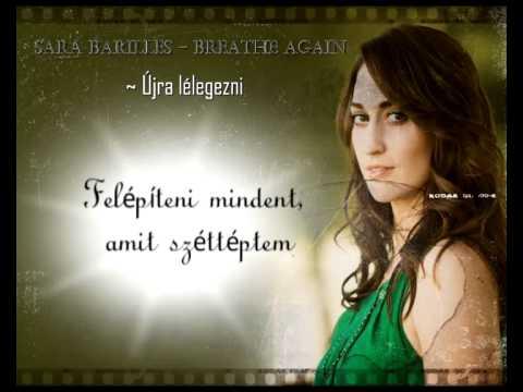 Sara Bareilles - Breathe Again ( magyar )