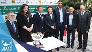 Nadal Takes Part In Monte-Carlo 2017 Draw Ceremony