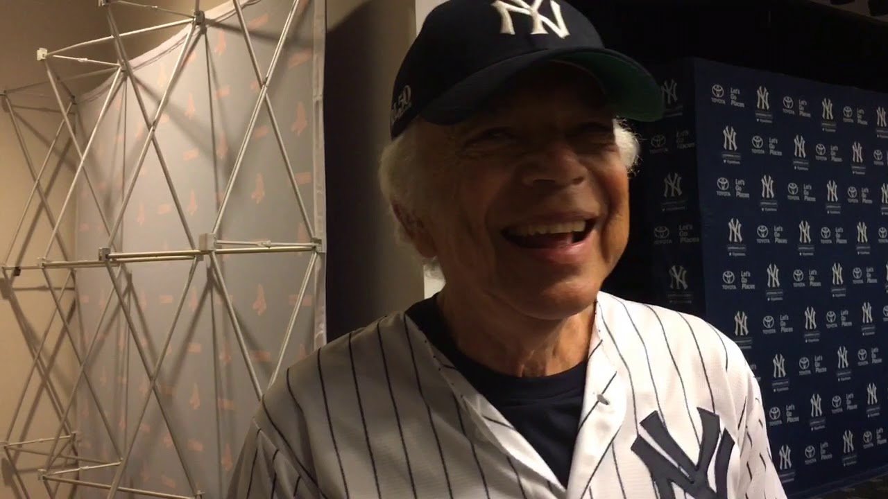 88ad028c Ralph Lauren on loving Yankees, Joe DiMaggio - YouTube
