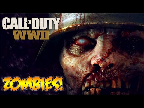 Thumbnail: CALL OF DUTY WW2 - ZOMBIES CONFIRMED + GAMEPLAY TRAILER LIVE REVEAL REACTION! (COD WW2)