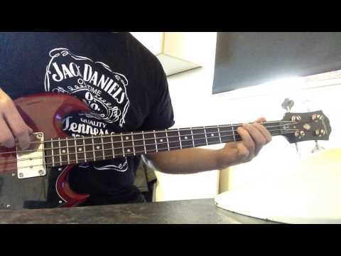 rockstar nickleback bass cover