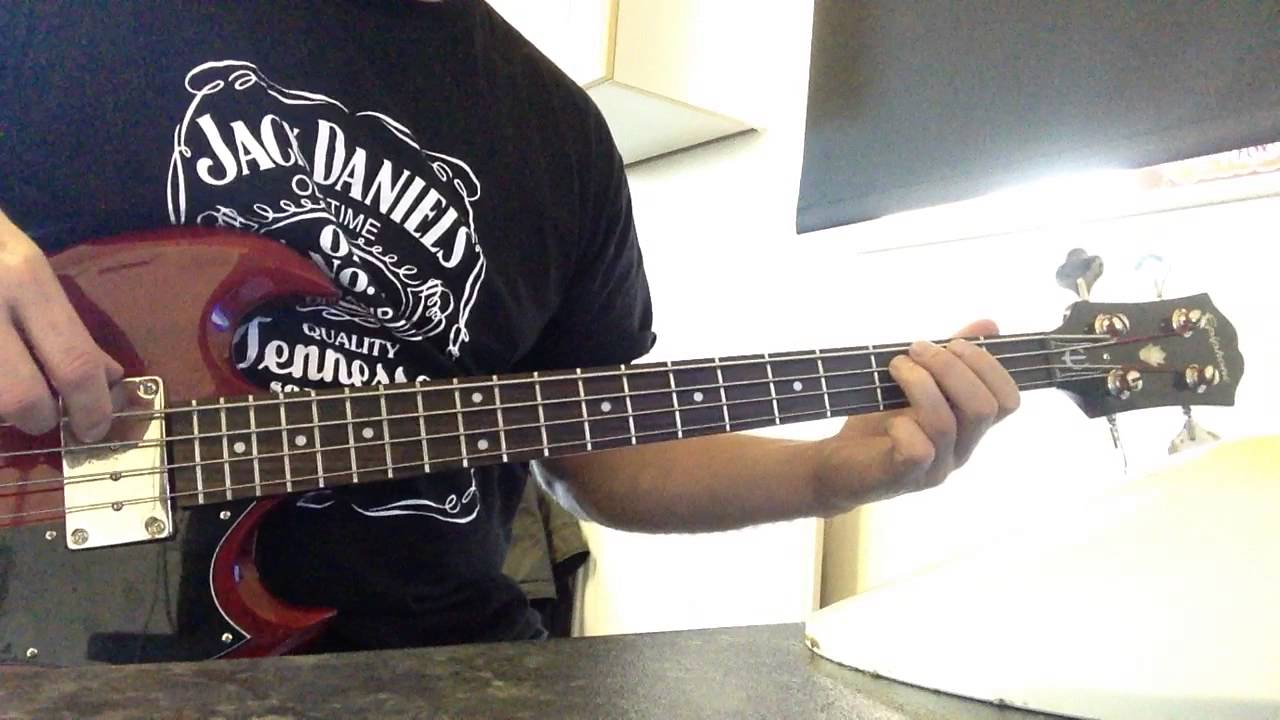 rockstar nickleback bass cover
