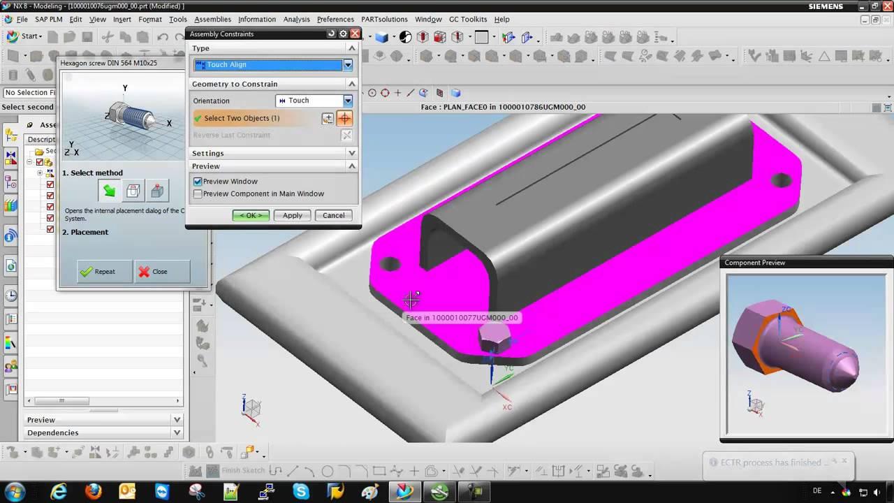 PLM Parts Catalog: Enabling Siemens NX Users to Search SAP PLM