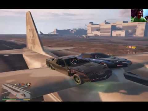 Trini Online Coop - GTA V - The Trouble With Parking on a Plane