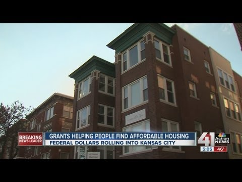 Federal dollars roll into Kansas City to help with affordable housing