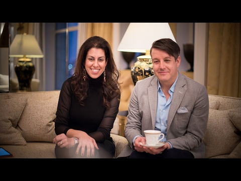Interview with Bruce Russell, luxury wedding planner, at The Savoy, London