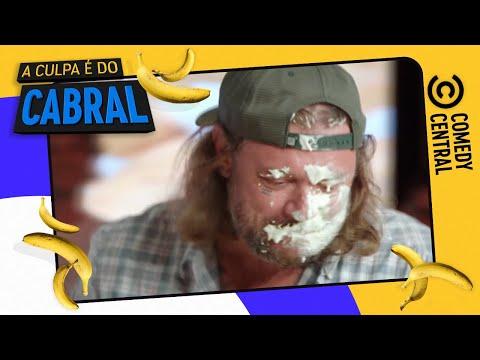 Torta NA CARA - parte 1 | Comedy Central A Culpa é do Cabral