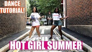 HOT GIRL SUMMER Megan Thee Stallion ft. Nicki Minaj & Ty Dolla $ign Dance TUTORIAL💃