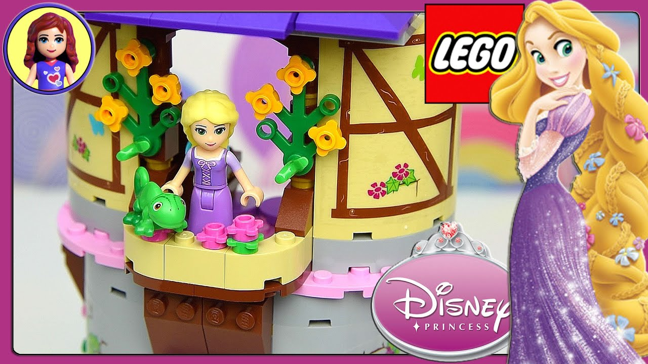 rapunzels creativity tower lego disney princess build and
