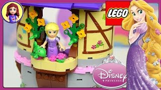 Rapunzel's Creativity Tower Lego Disney Princess Build and Play - Kids Toys
