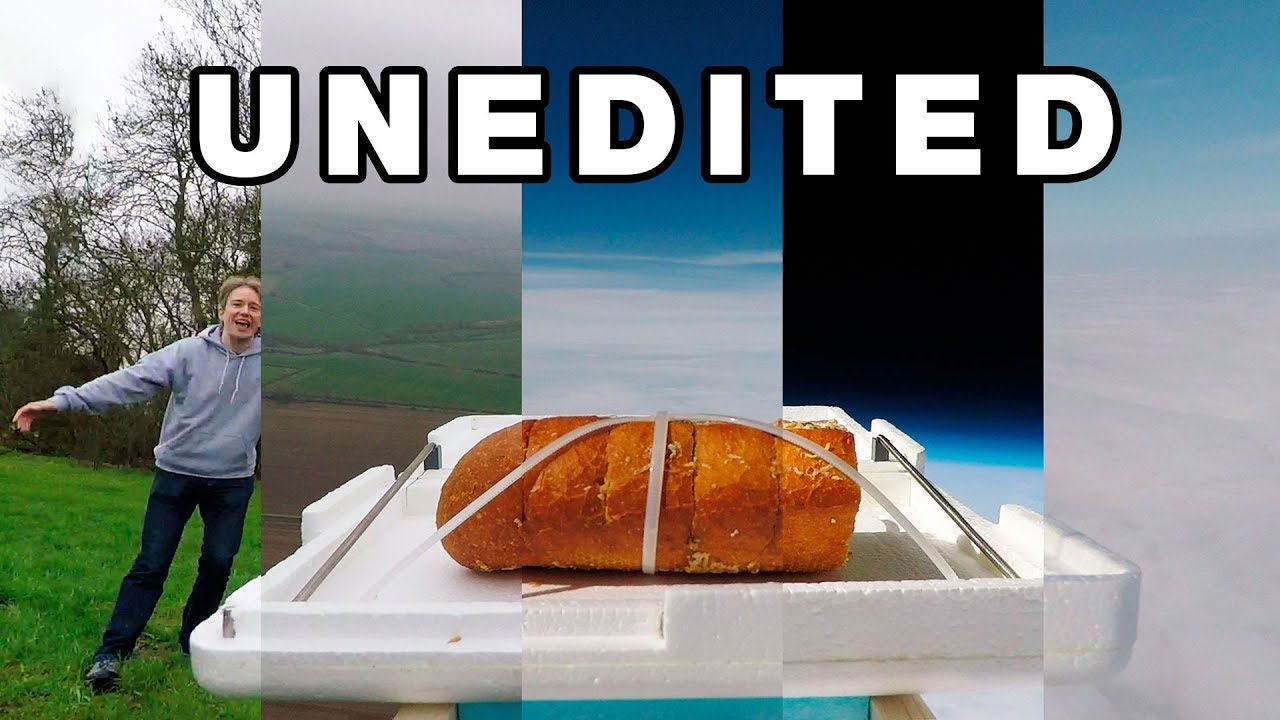 Download 2½ Hours of Unedited Garlic Bread Flight Footage