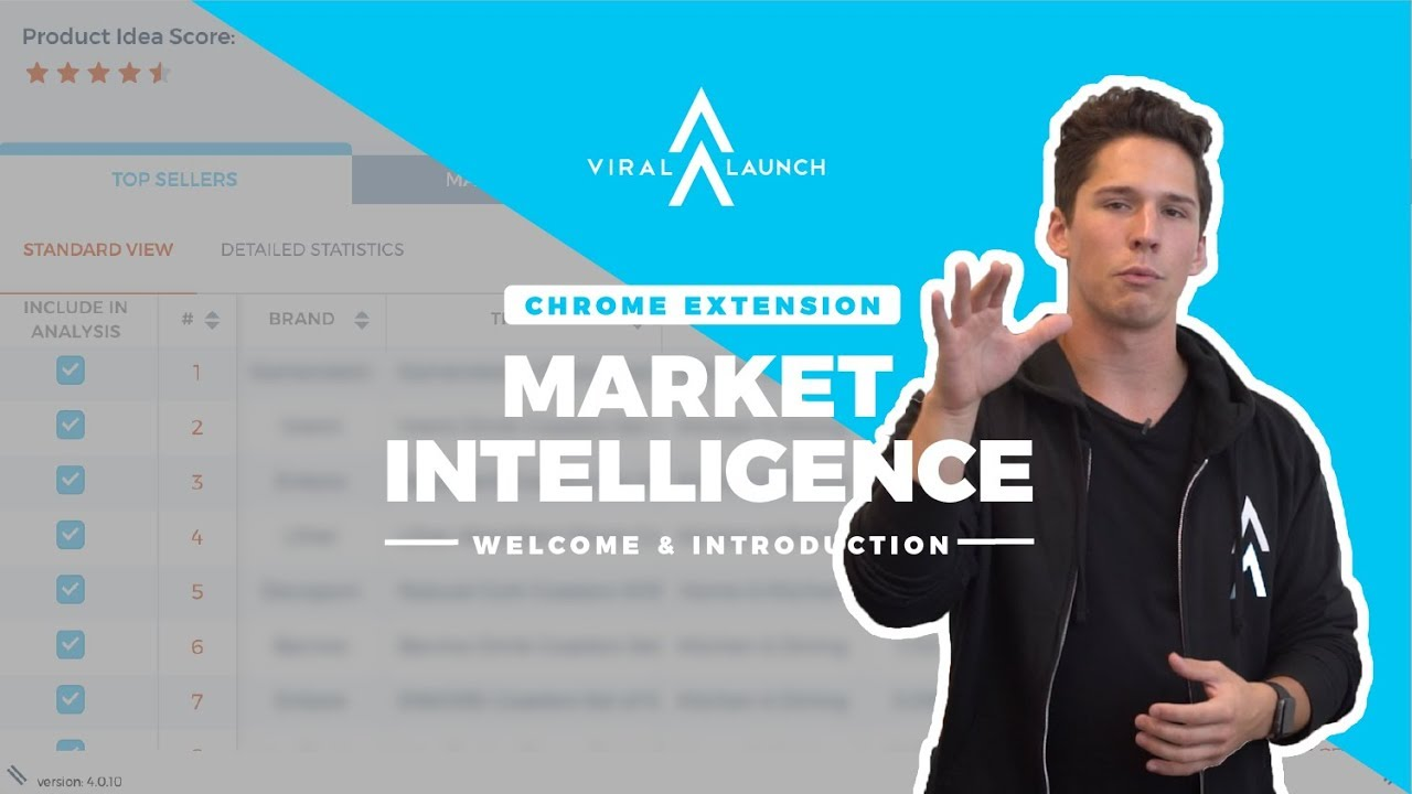 viral launch chrome extension