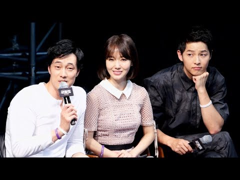 [Full영상] 송중기 Song JoongKi, 소지섭 So JiSub, 이정현 Lee JungHyun _ 영화 '군함도' 쇼케이스 _ 장충체육관