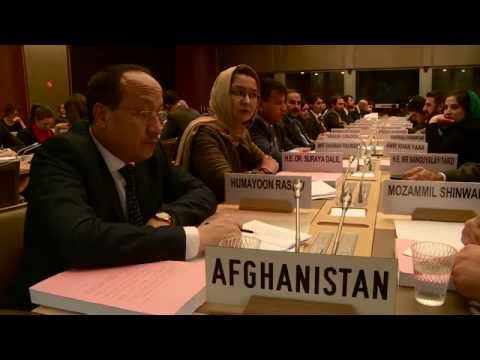 Afghanistan final membership talks