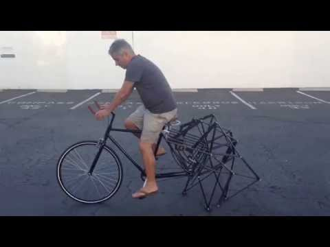 This Strandbeest Bike Looks Like A (Fun) Nightmare