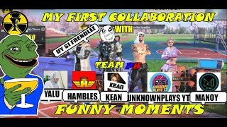 MY FIRST COLLABORATION | TEAMPH | RULES OF SURVIVAL FUNNY MOMENTS