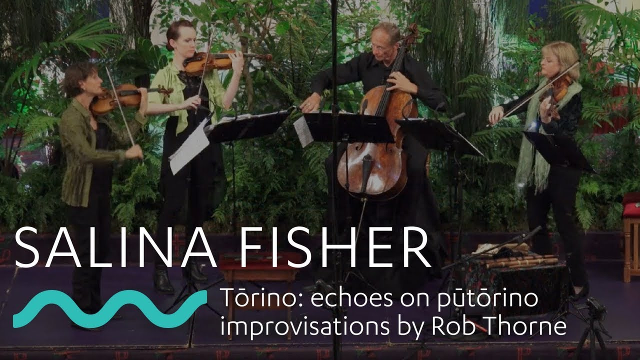 SALINA FISHER: Tōrino  echoes on pūtōrino improvisations by Rob Thorne