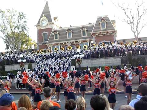 Marching Illini Rose Bowl 2008 Illinois Loyalty Oskee Wow Wow