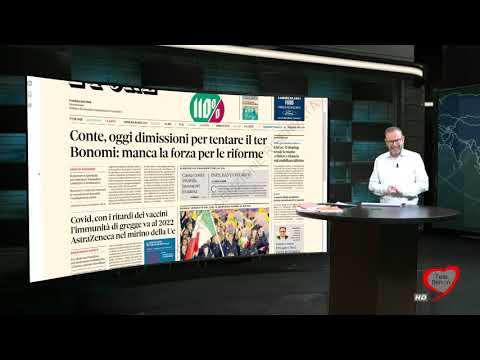 I giornali in edicola - la rassegna stampa 26/01/2021