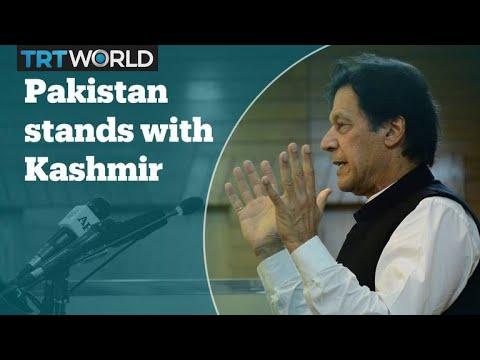 Pakistan stands with Kashmir – PM Imran Khan