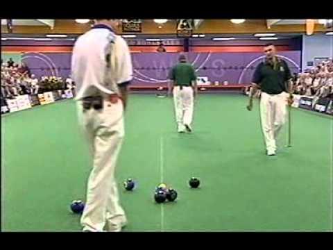 Lawn Bowls:2002 K Kerkow Vs J Ross THBC Indoor