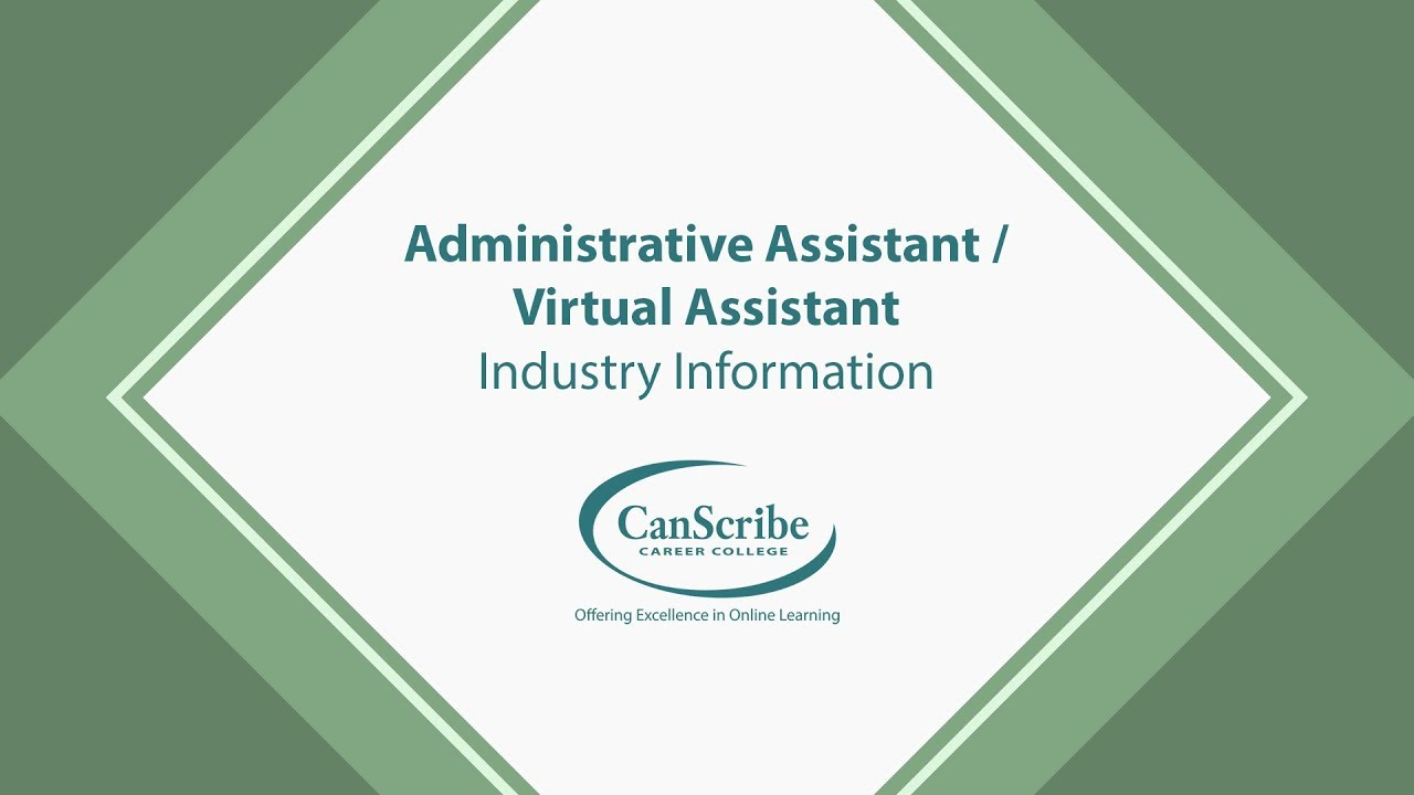 Administrative Assistant Virtual Assistant Course Youtube