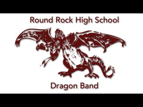 Triptych - Round Rock Dragon Band - UIL State Finals - High Camera