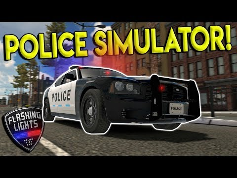 POLICE, FIREFIGHTER, EMS RESCUE SIMULATOR! - Flashing Lights Gameplay - First Look