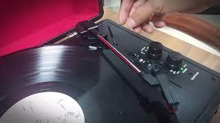 레트로 축음기 레코드 LP 플레이어 블루투스 턴테이블