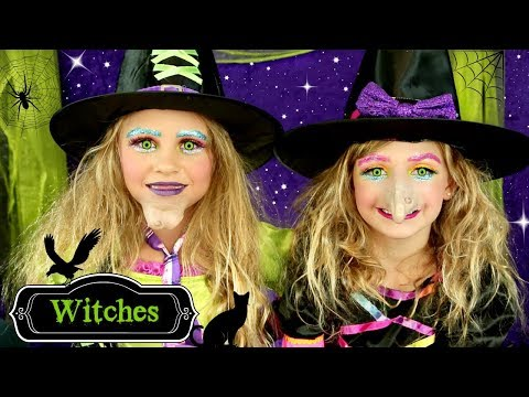 Cute Halloween Witch Costumes and Makeup