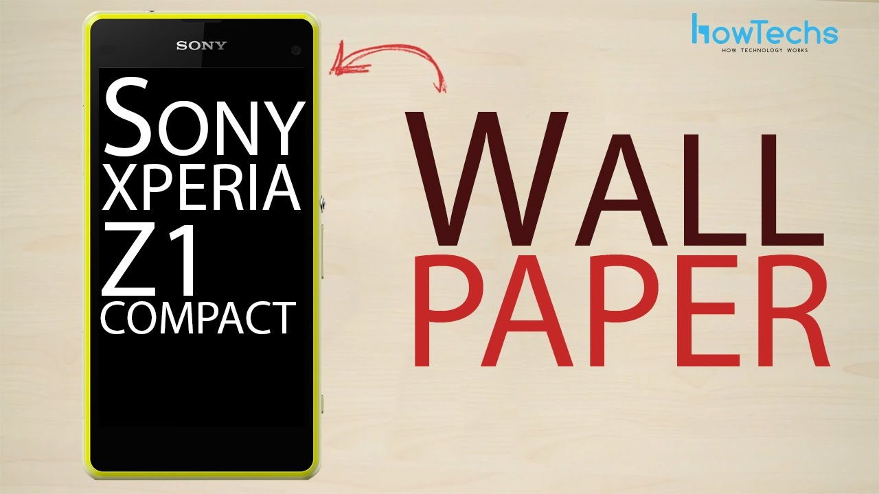 Sony Xperia Z1 Compact How To Change Theme And Wallpaper Youtube