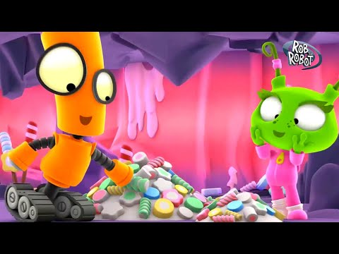 Candyland   Rob The Robot   Toddler Learning Video