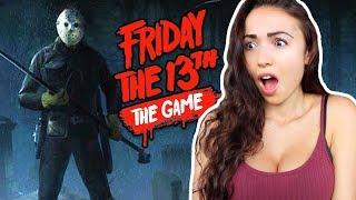 FRIDAY THE 13th GAME w/ MY BOYFRIEND!