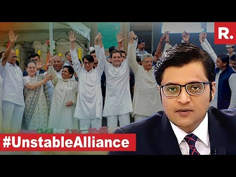 Can India Afford Unstable Alliance? | The Debate With Arnab Goswami