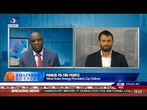 Business Morning: Solar In Nigeria's Overall Energy Mix Pt 1