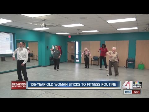 Workout Wednesday: 105-year-old OP woman exercises weekly