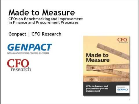 Made to measure: Genpact sponsored Webcast with CFO Research