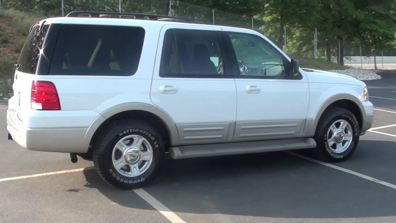 FOR SALE 2005 FORD EXPEDITION EDDIE BAUER 1 OWNER REAR ENT