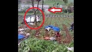Kecelakaan Beruntun di Puncak, Bus dan Avanza Masuk Jurang