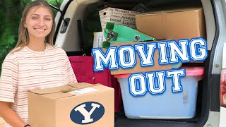 I'm MOVING OUT! | Going to College