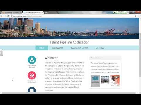 """Resource Update: Talent Pipeline App"" (Workforce Development Council of Seattle-King County)"