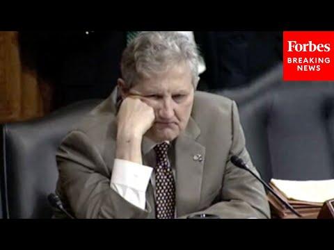 'I'm Sorry To Interrupt You': John Kennedy Has Tense Questioning Of Biden Judicial No