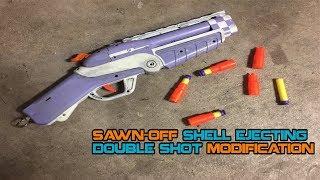 NERF Sawn-Off Shell-ejection Shotgun Mod | Walcom S7