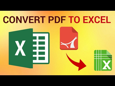 adobe reader convert pdf to excel free