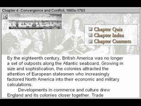 Convergence and Conflict 1660 – 1763 (The American Journey Part 4)