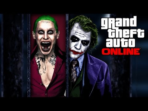 "GTA 5 Online - How to dress up like ""Joker"" from Batman Films (Heath/Jared/Heist Version)"