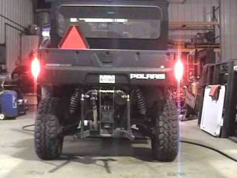 2010 Polaris Ranger Led Turn Signals And 4 Way Flashers