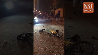 JB accident horror: Teen cyclists were part of