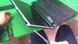 Sony Vaio VPCEH Laptop Screen Replacement Procedure
