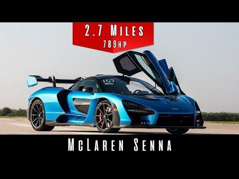 2019 McLaren Senna (Top Speed Test)
